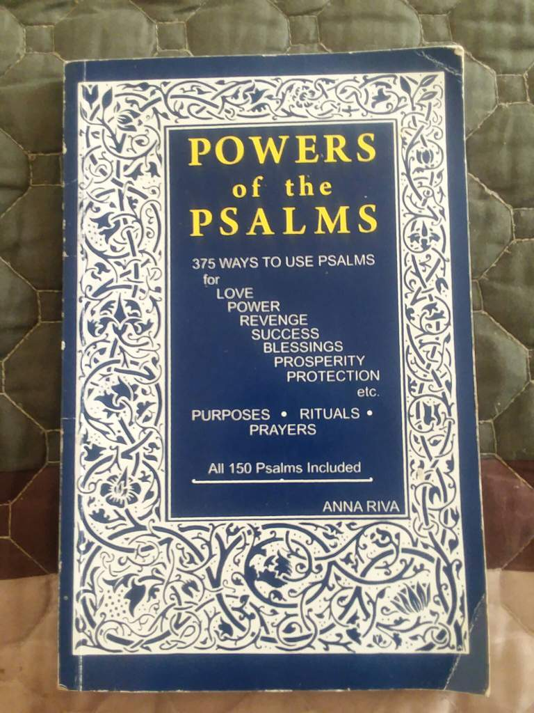 Power of the Psalms: #OWC #BOOKWORM | Pagans & Witches Amino