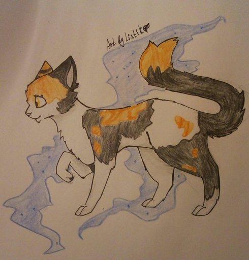 Коты воители как рисовать