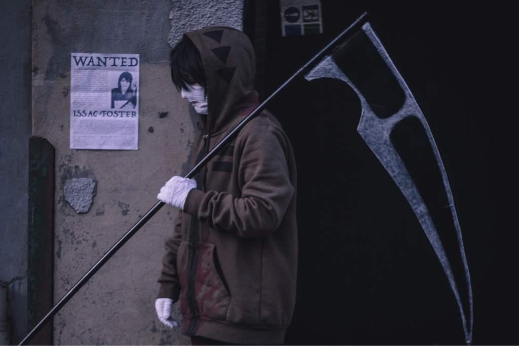 Isaac /'Zack/' Foster/'s Scythe cosplay