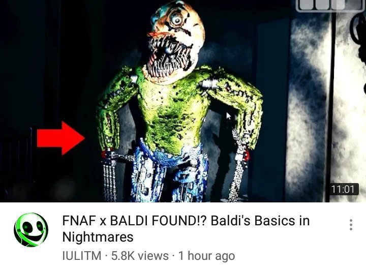 FNAF & Baldi's Basics Combined in a New Fan Game! | Star Legends Amino