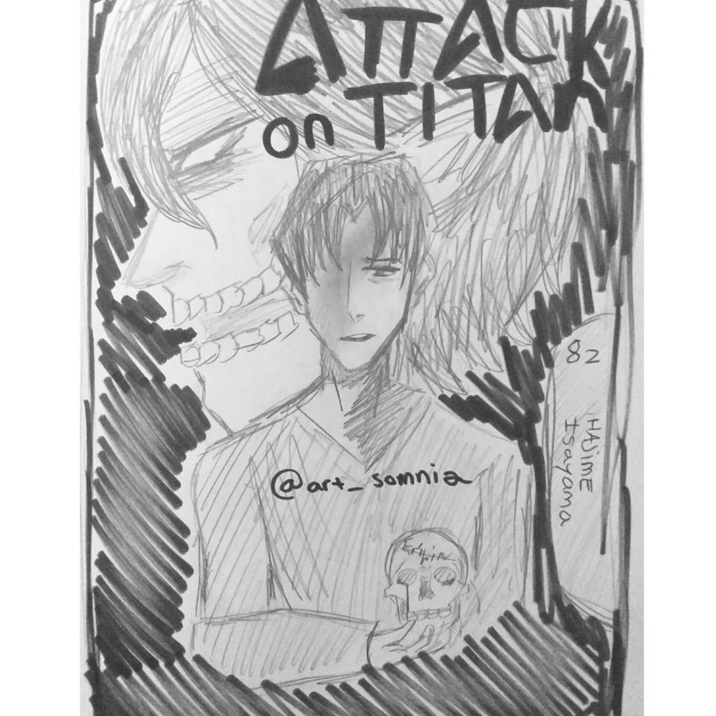 Attack On Titan - Manga cover | Attack On Titan Amino