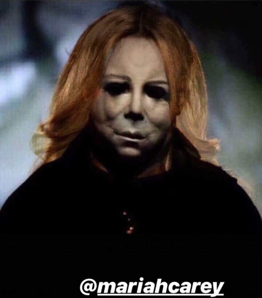 Mariah Carey Got Face Swapped With Halloween S Michael Myers It S Now The Scariest Meme Of 2018 My Style News Horror Amino