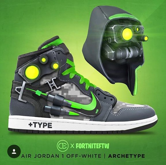 4a9b71d25e5 Fortnite shoes   not mine   face reveal at 50 followers. Red Nosed Zombie  September 30
