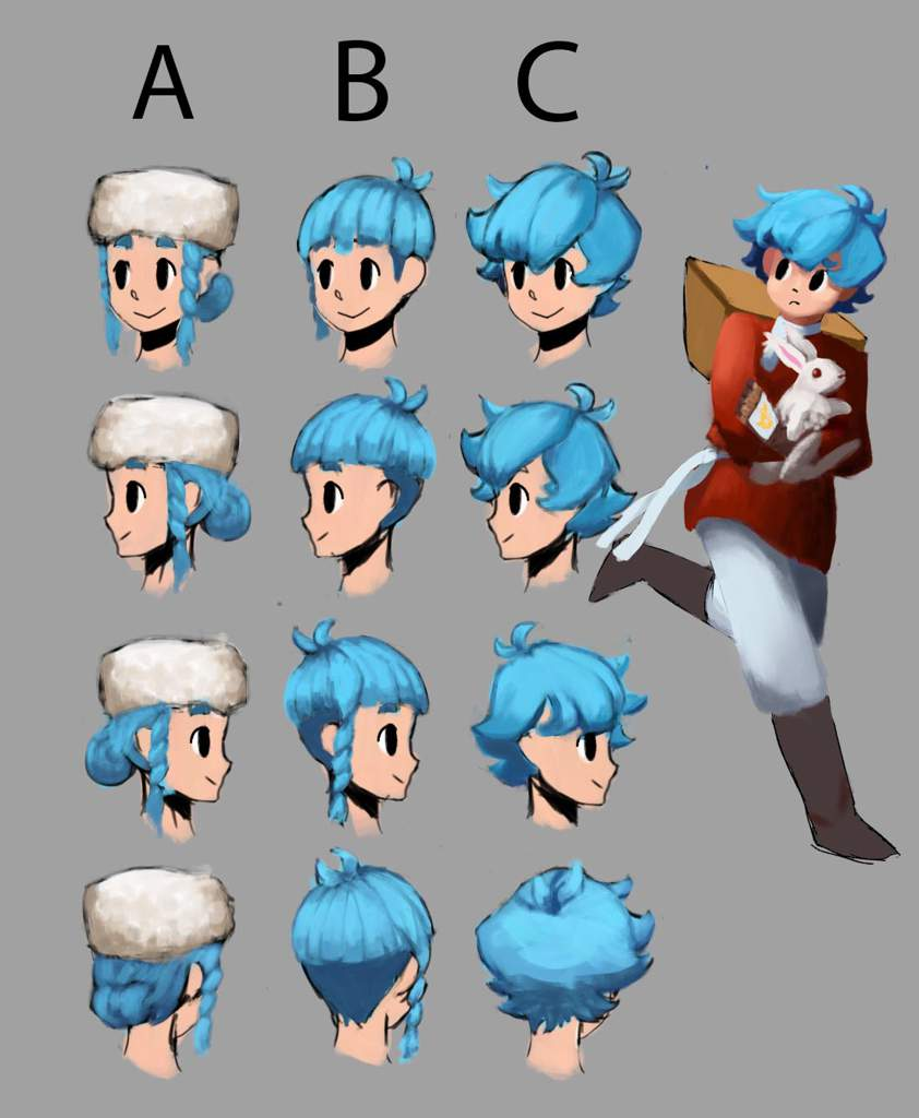 Which Hairstyle Fits My Protagonist The Best? | RPG Maker Amino