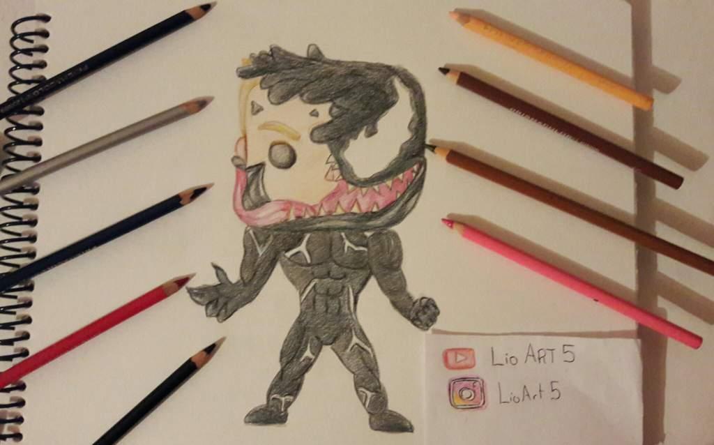 Como Dinujar A Venom Chibi How To Draw Venom Chibi Arte Anime