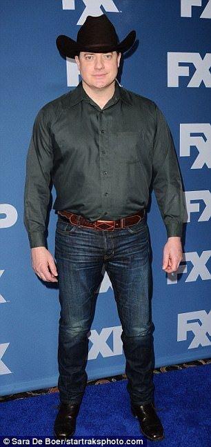 Brendan Fraser at the Television Critics Association ...