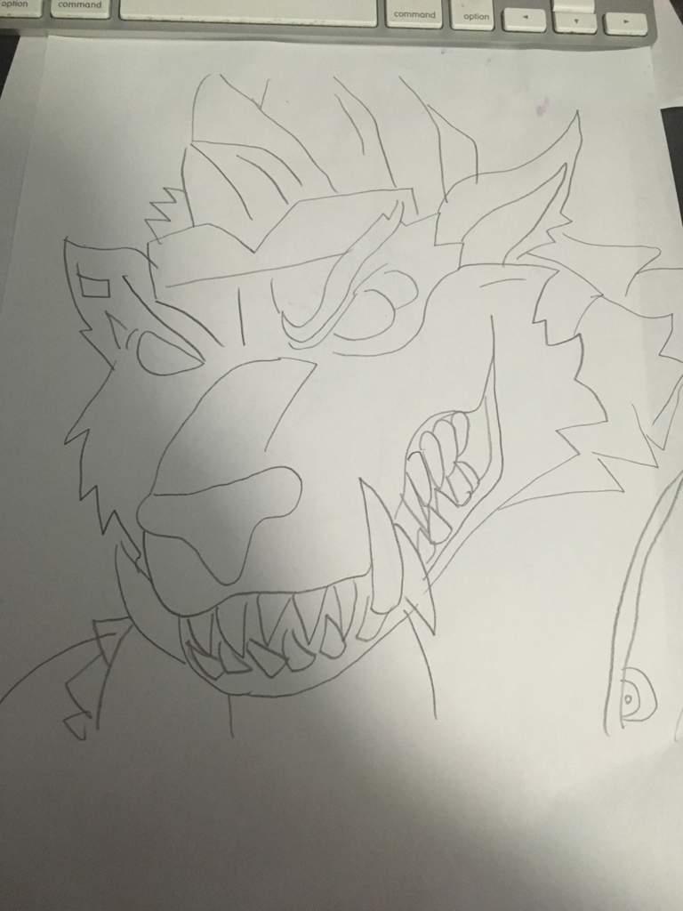 Fortnite dire drawing W proof