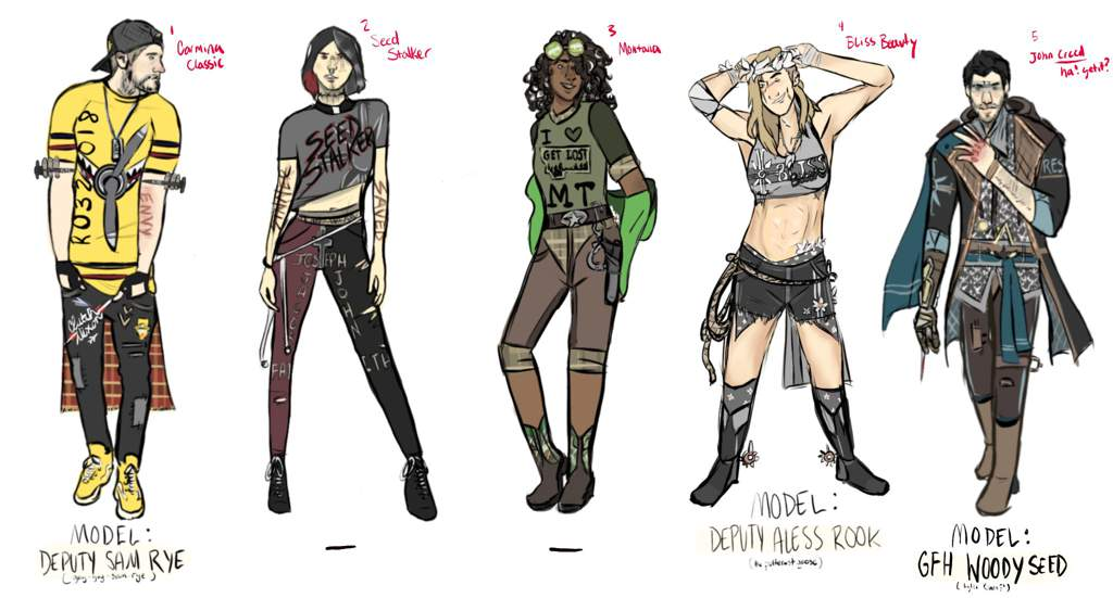 New Outfit Designs Final Far Cry Amino Amino