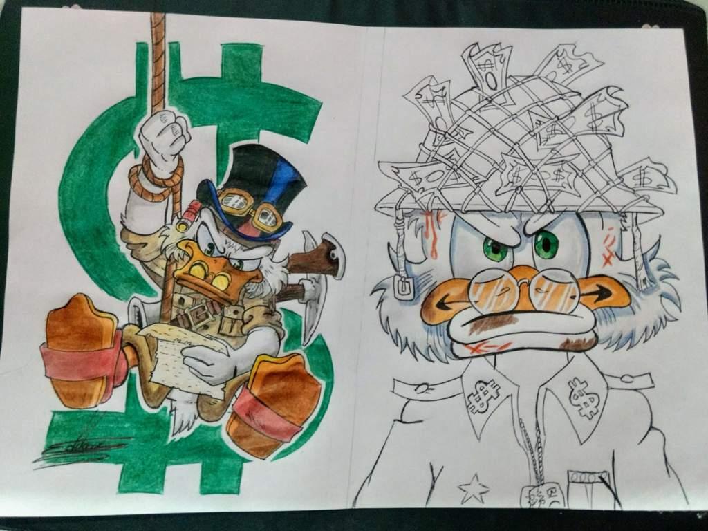 Esse é Meu Desenho Para O Desafio Mymoney Personagem Tio