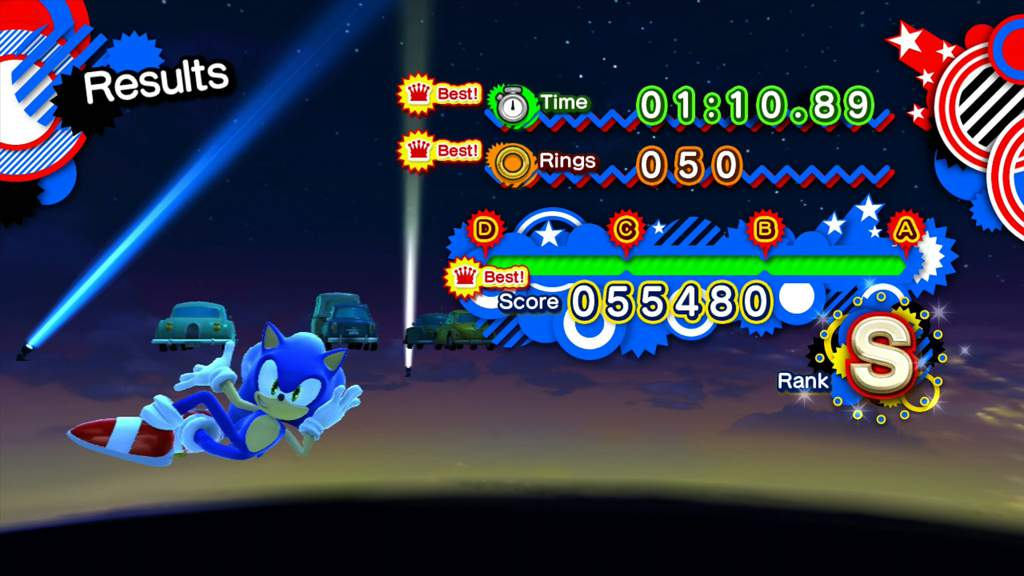 Sonic Generations Speed Highway Act 2 Speedrun | Sonic the