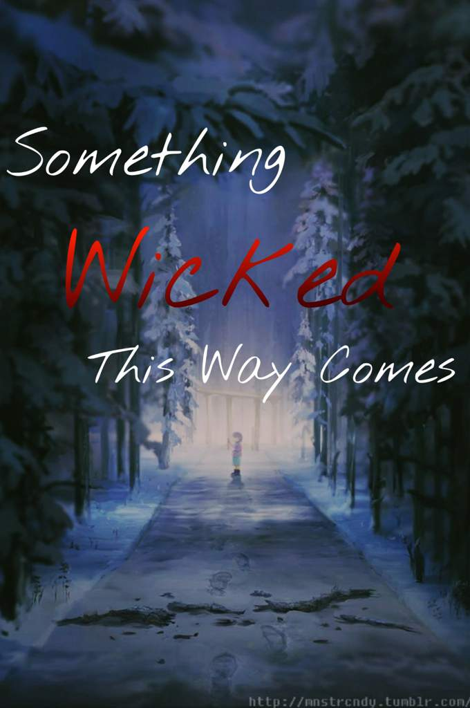 something wicked this way comes poem
