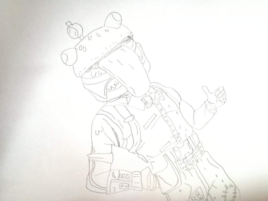 Dibujo A Cabeza De Hamburguesa 🍔