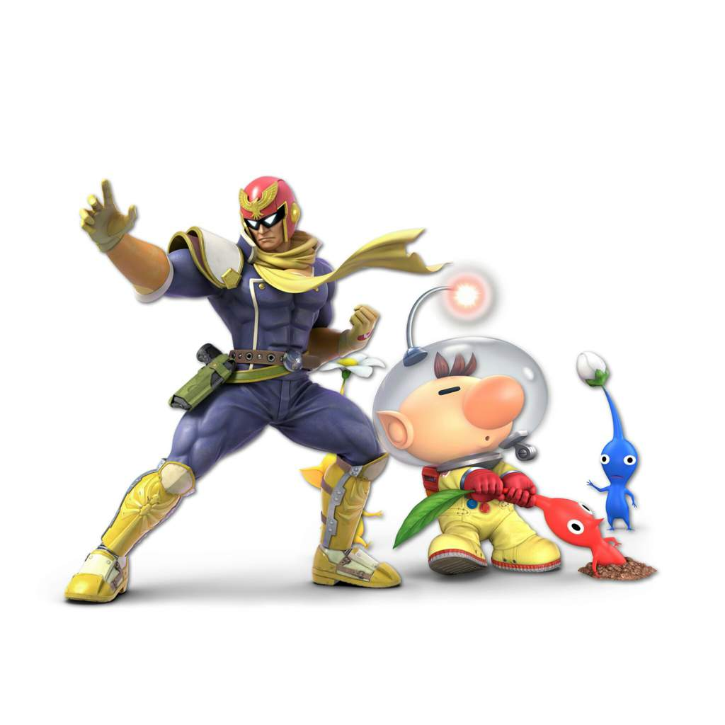Contrast in Smash Bros: The Two Captains (Captain Falcon and