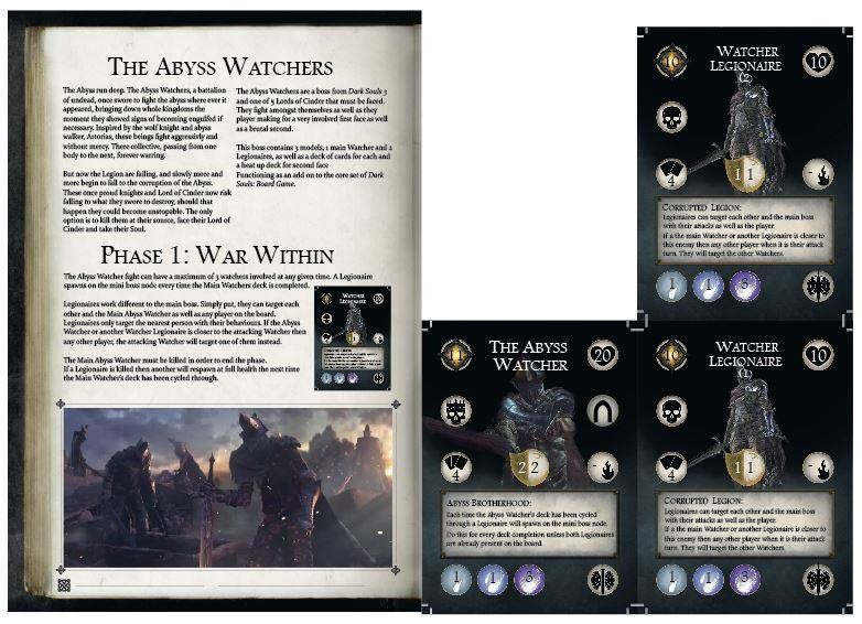 Dark Souls The Board Game Abyss Watchers Fanmade Expansion Dark Souls Amino
