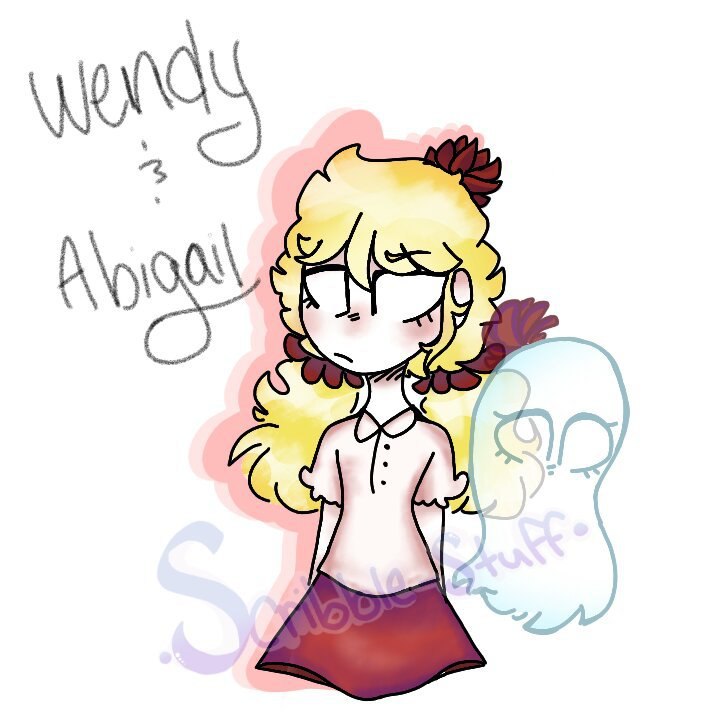 Wendy And Abigail Fanart Redraw Dont Starve Amino