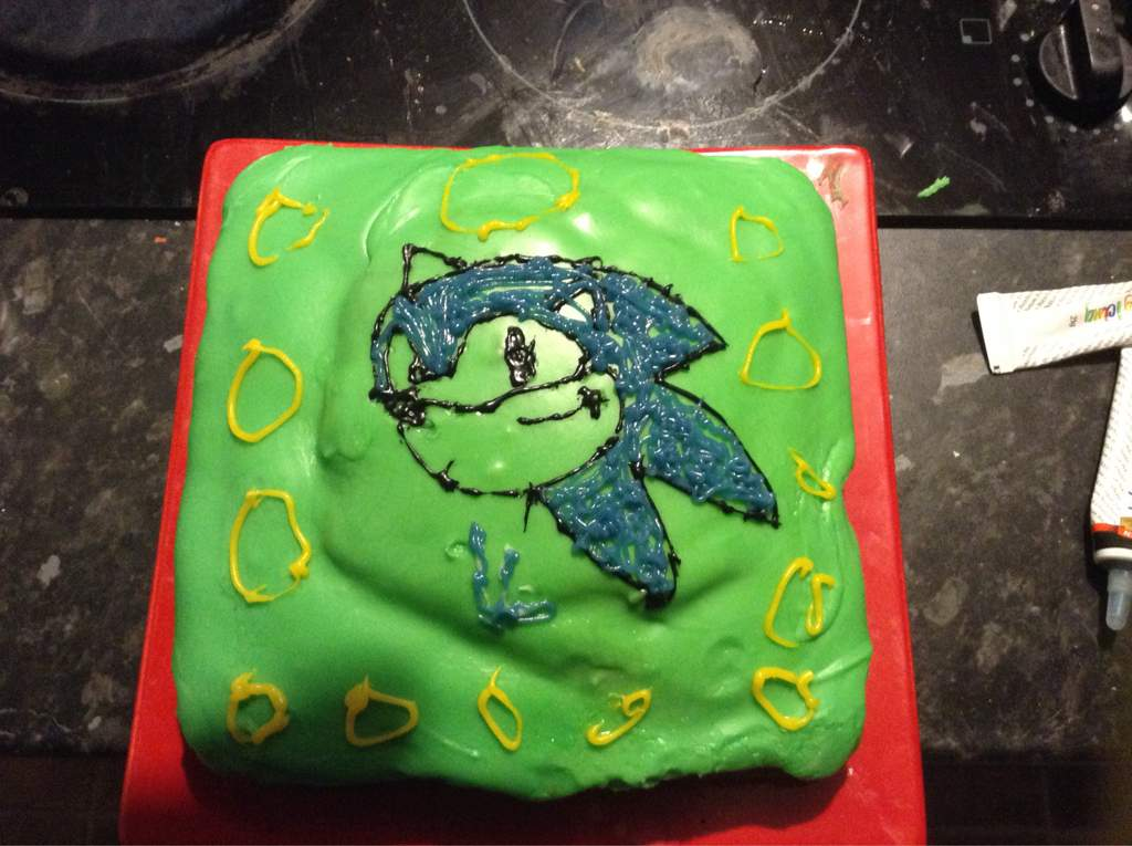 When I Make My Own Sonic Birthday Cake Sonic The Hedgehog Amino