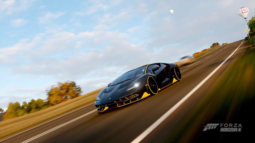 Lamborghini Centenario Back On Track Forza Horizon Amino