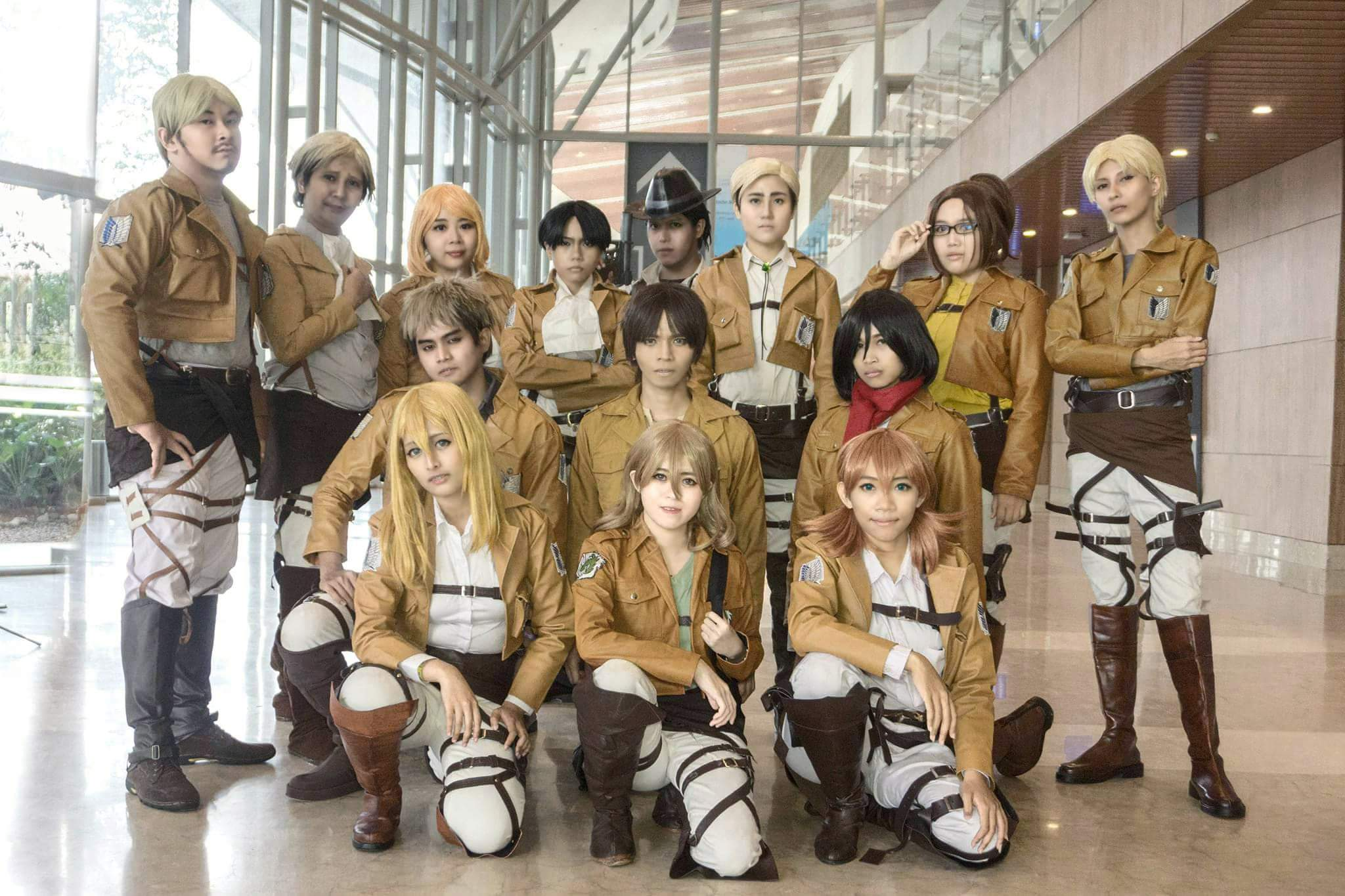 Beyond The Wall [ Indonesian Attack on Titan Cosplay Team ] | Attack On  Titan Amino