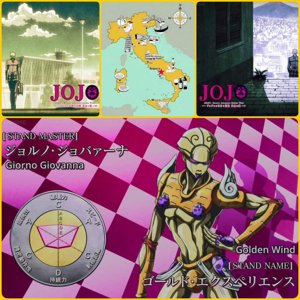 Jojo part 5 ep 1 - Golden Wind | JoJo Amino Amino