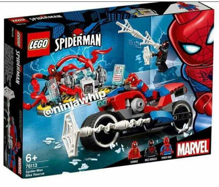 lego 2019 spider man sets revealed lego amino. Black Bedroom Furniture Sets. Home Design Ideas