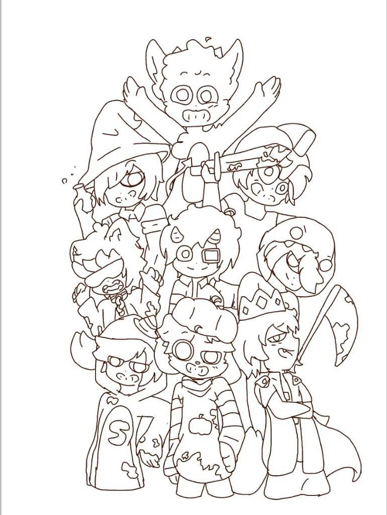 001 Un Dibujo Mas By Nero Mikecrack Amino