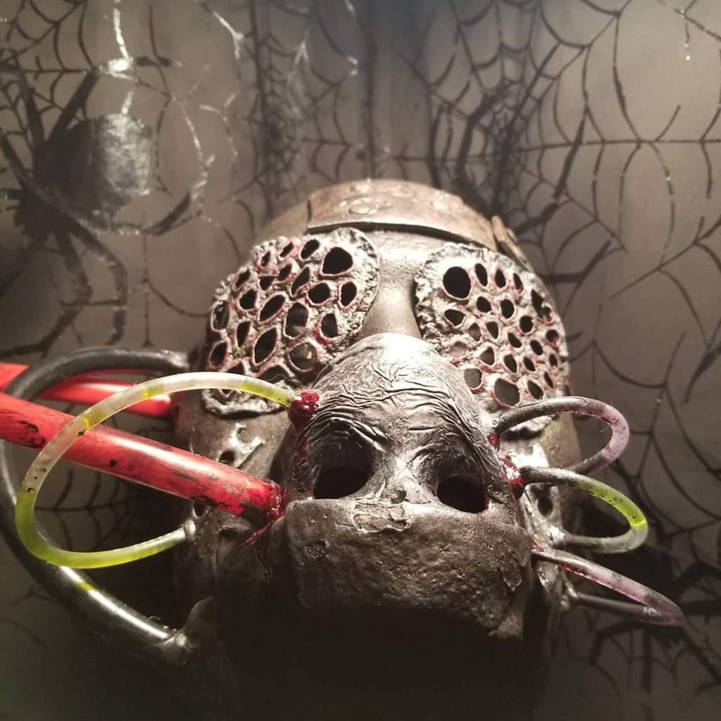 Apocalyptic Trypophobia Mask Horror Amino