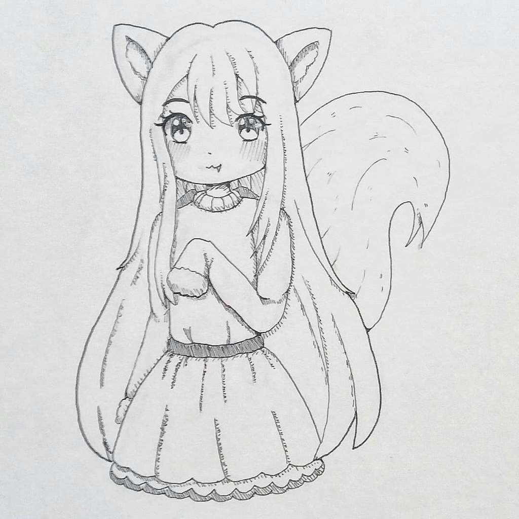 Intober Day 5 Kawaii Anime Art Amino