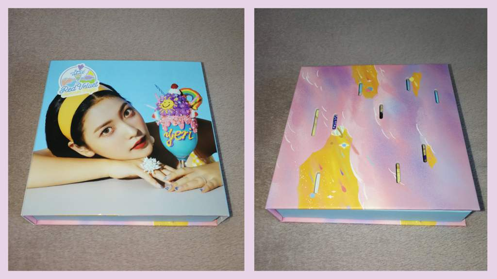 red velvet summer magic limited edition unboxing