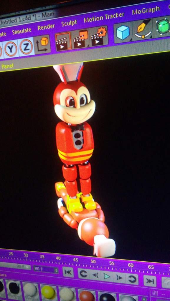 Jolly V2 as killed Jolly V1   Five Nights At Freddy's Amino