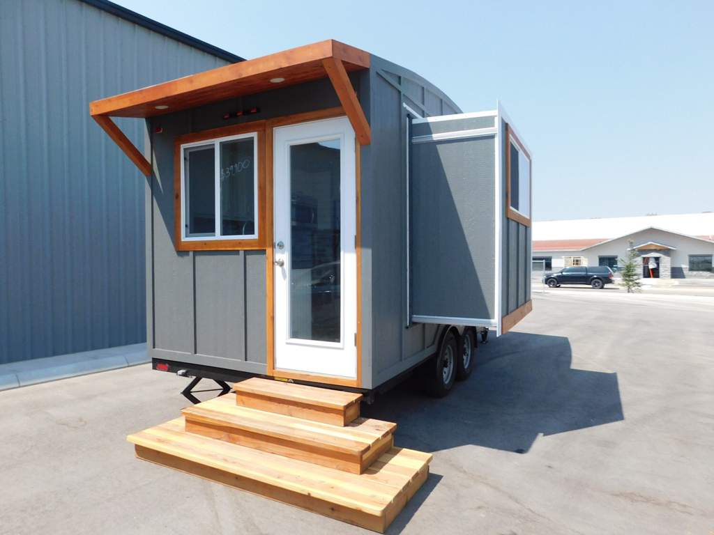 20ft Ozark Tiny House with a Dinette Slide Out, Main Floor