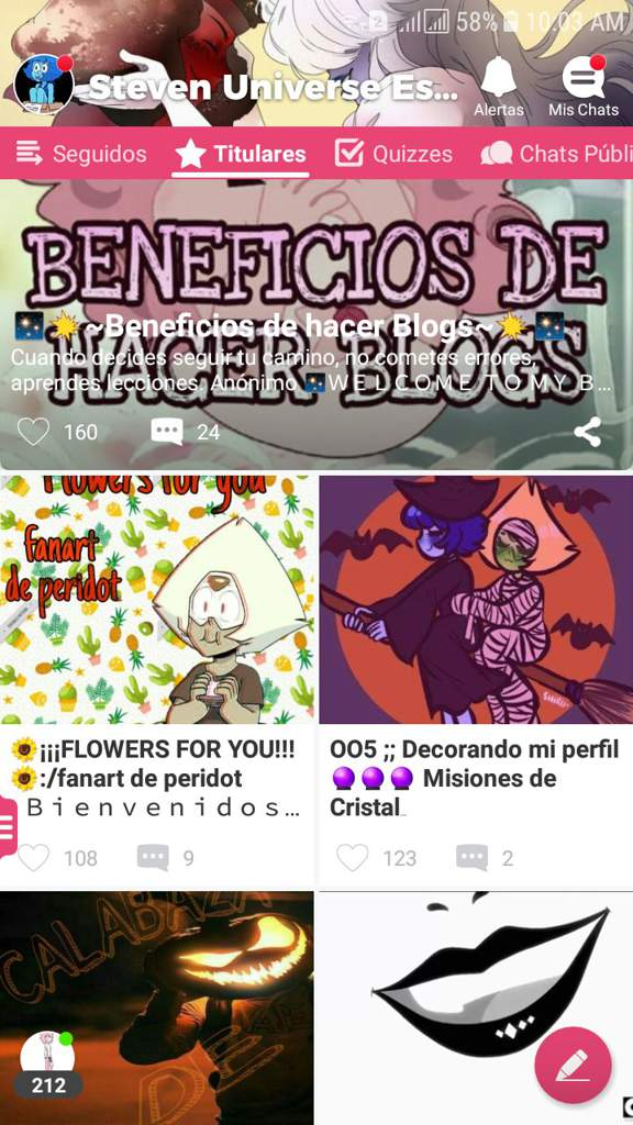 🌻¡¡¡FLOWERS FOR YOU!!!🌻/fanart de peridot