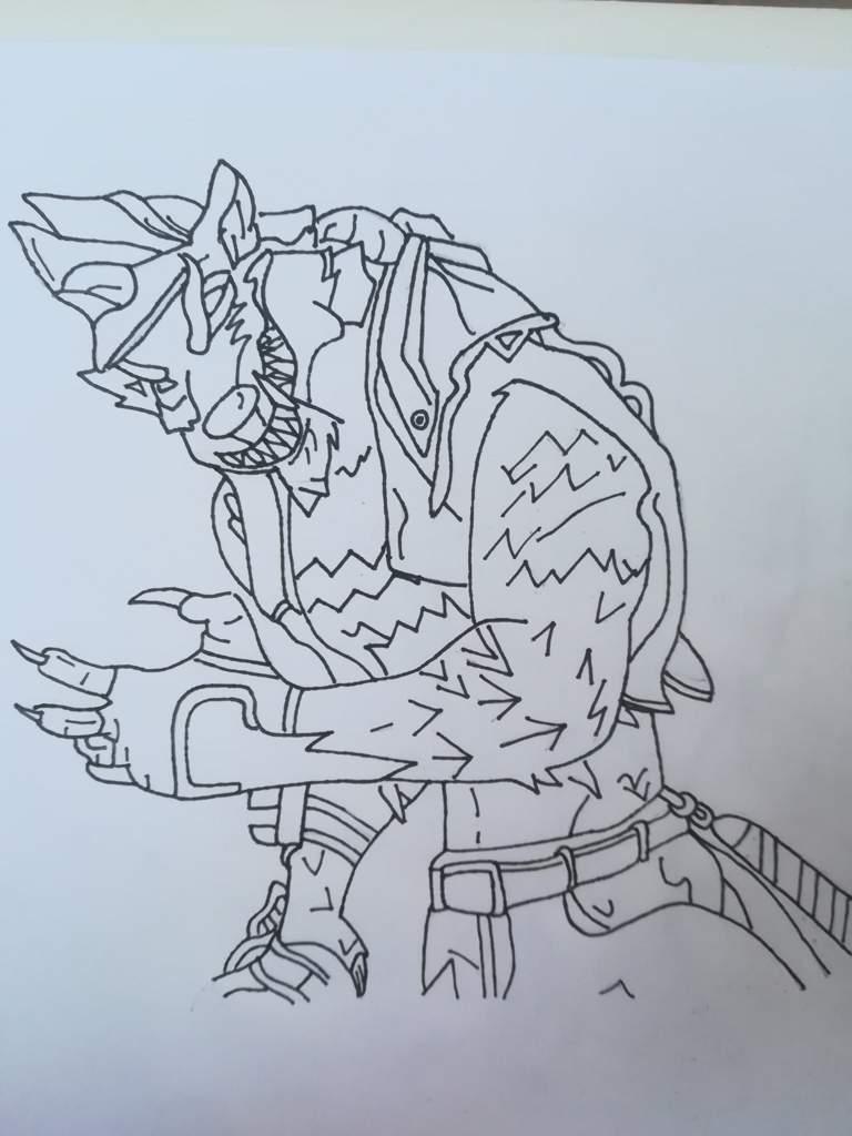 Dibujo A Lobuno Fortnite Español Amino