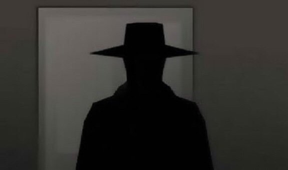 Image result for hat man shadow