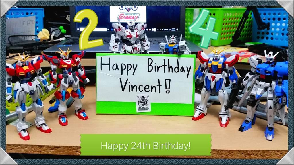 A Little Birthday Surprise Gundam Amino Amino