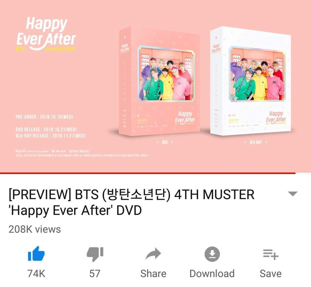 4TH MUSTER 'Happy Ever After' DVD | ARMY's Amino