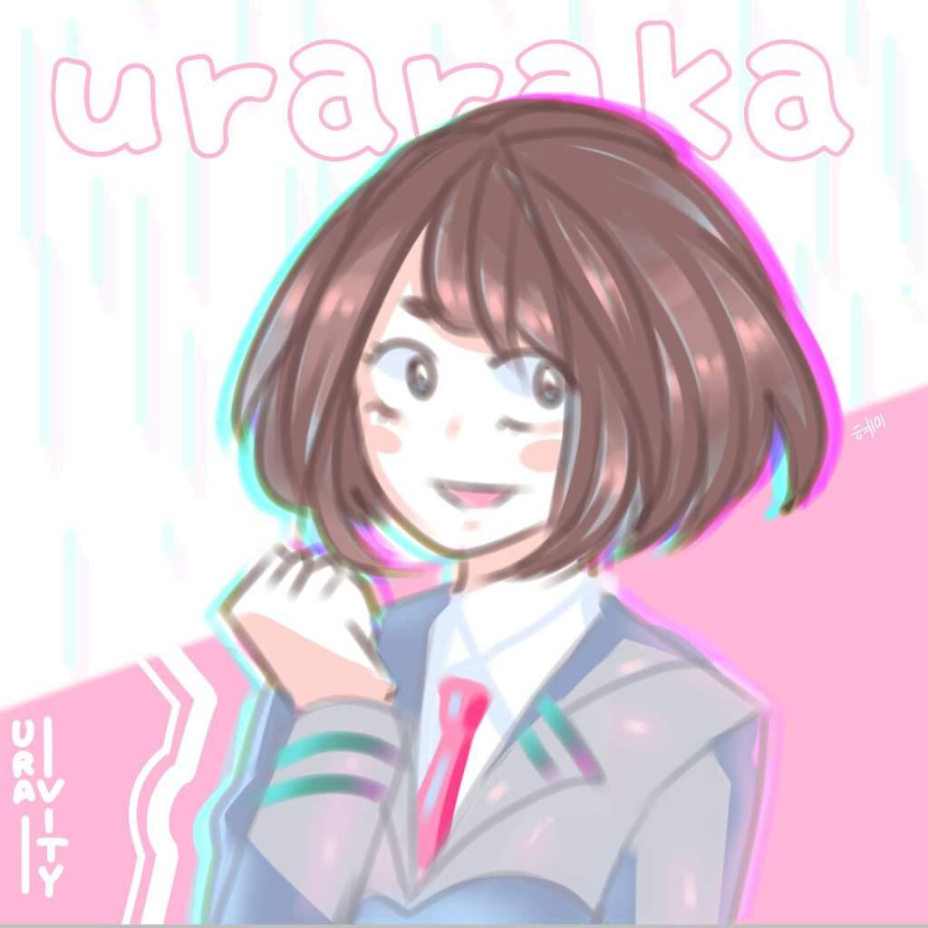 Ochaco Uraraka Uravity Fan Art My Hero Academia Amino