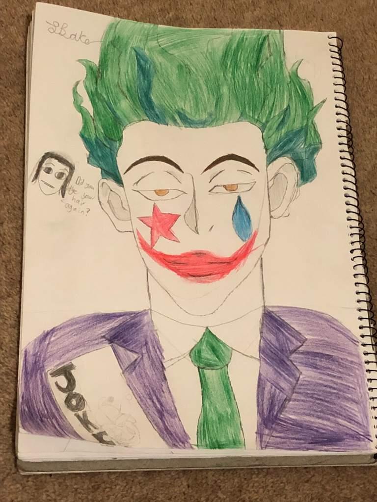 Hisoka As The Joker For Halloween Hunter X Hunter Amino