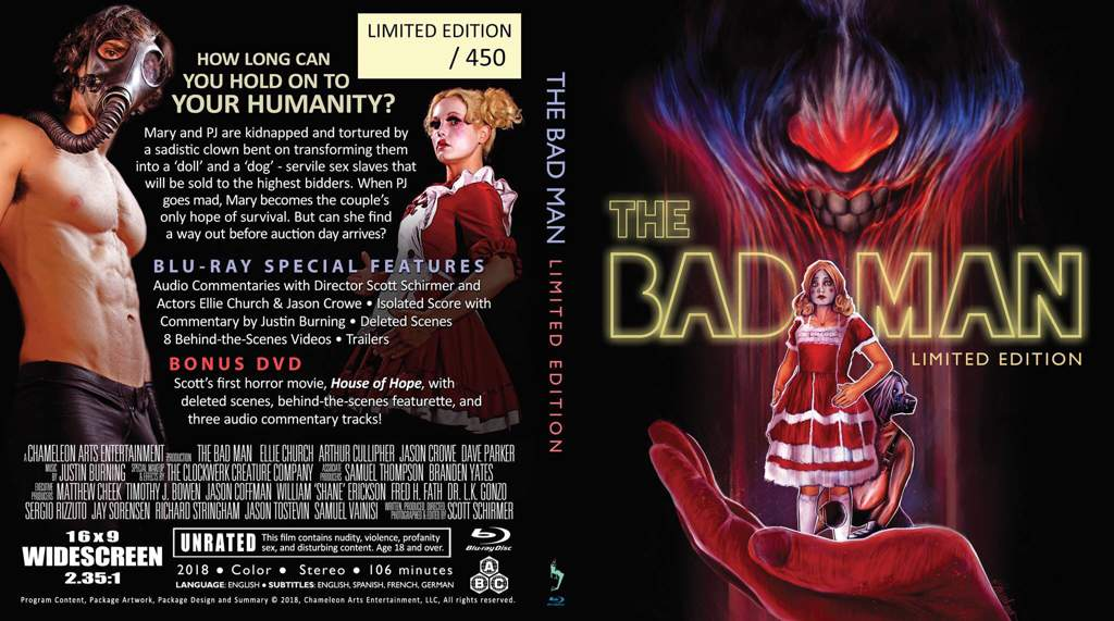 The Bad Man (2018)   Horror Amino