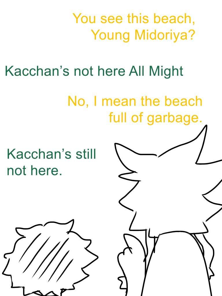 Beach Jokes I Made When Starting The Anime My Hero Academia Amino