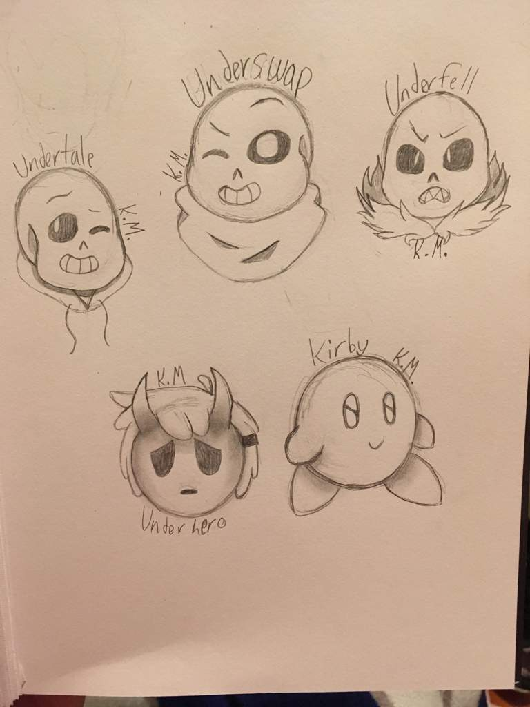 Drawing Game Characters Plus 2 Undertale Aus Video Games Amino
