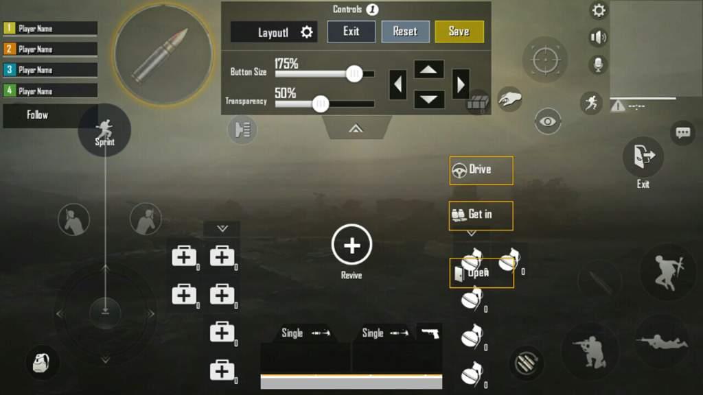 Top 3 best Custom Controls in PUBG Mobile | PUBG Mobile Amino