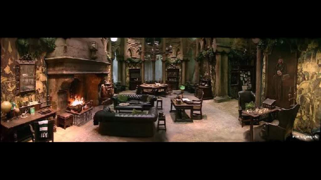 The Architechture Of The Slytherin Common Room Harry