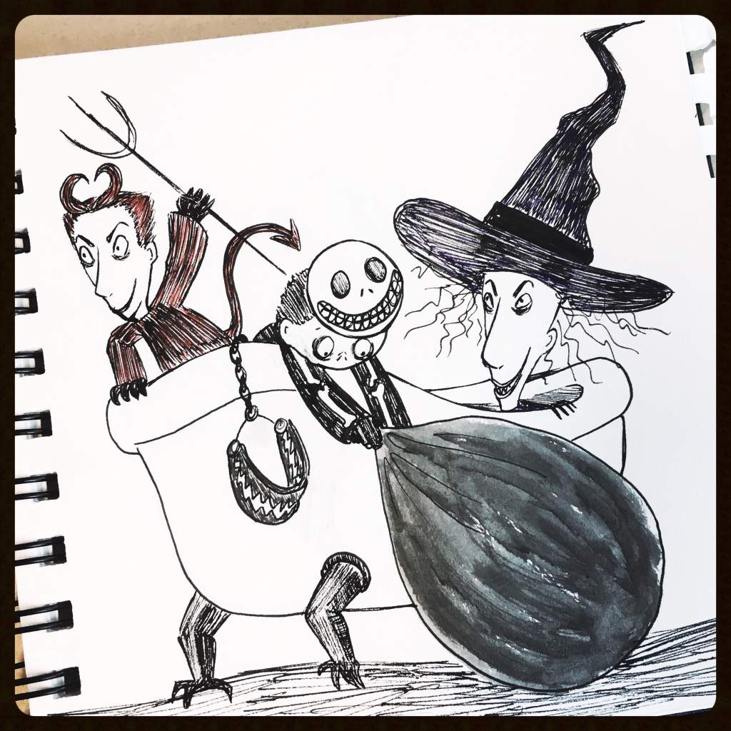 Day 10: halloweens finest trick or treaters | 🎃 Nightmare before ...