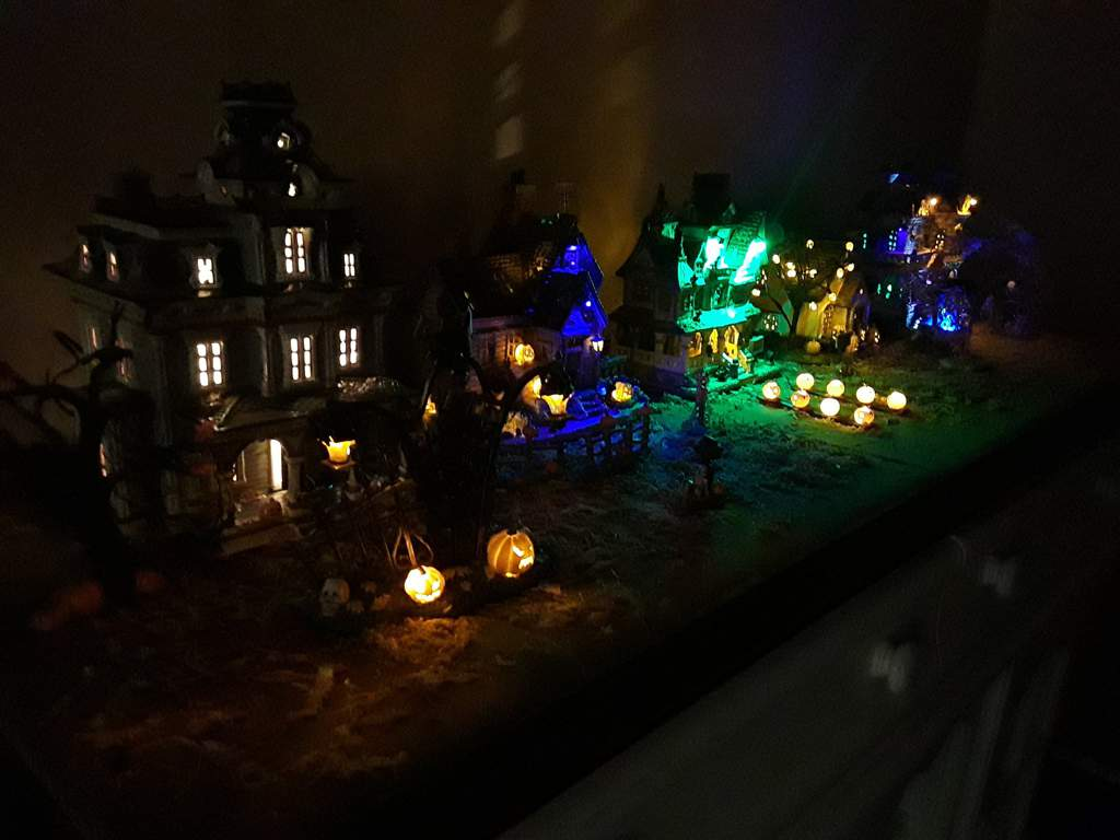 my indoor haunted village | the halloween amino amino