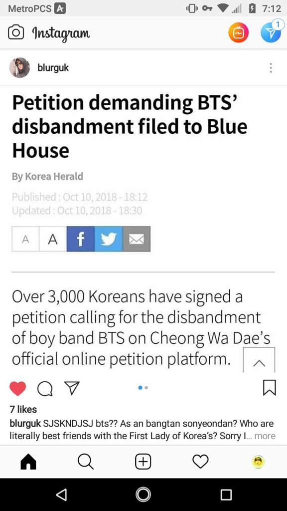 Bts disbanding petition? Whaaa- | BTS Amino