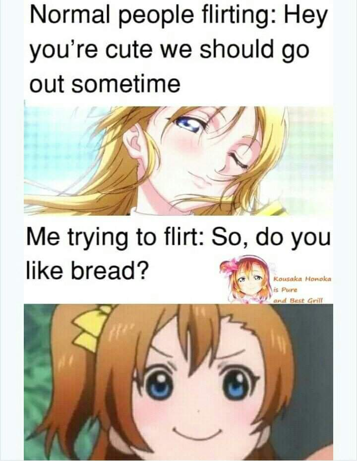 flirting meme with bread images cartoon pictures 2017