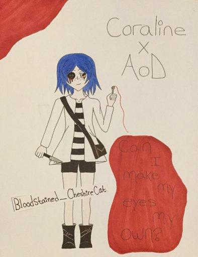 Cute Coraline Drawings Easy