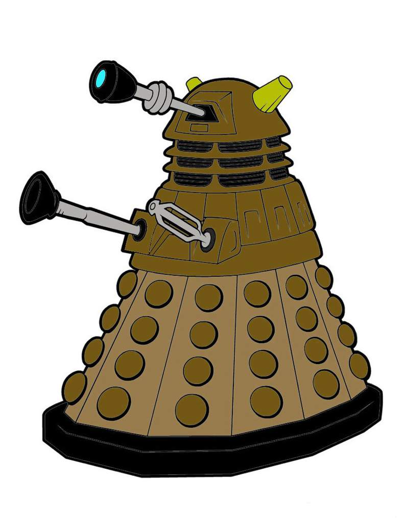 Dalek Coloring Page Doctor Who Amino