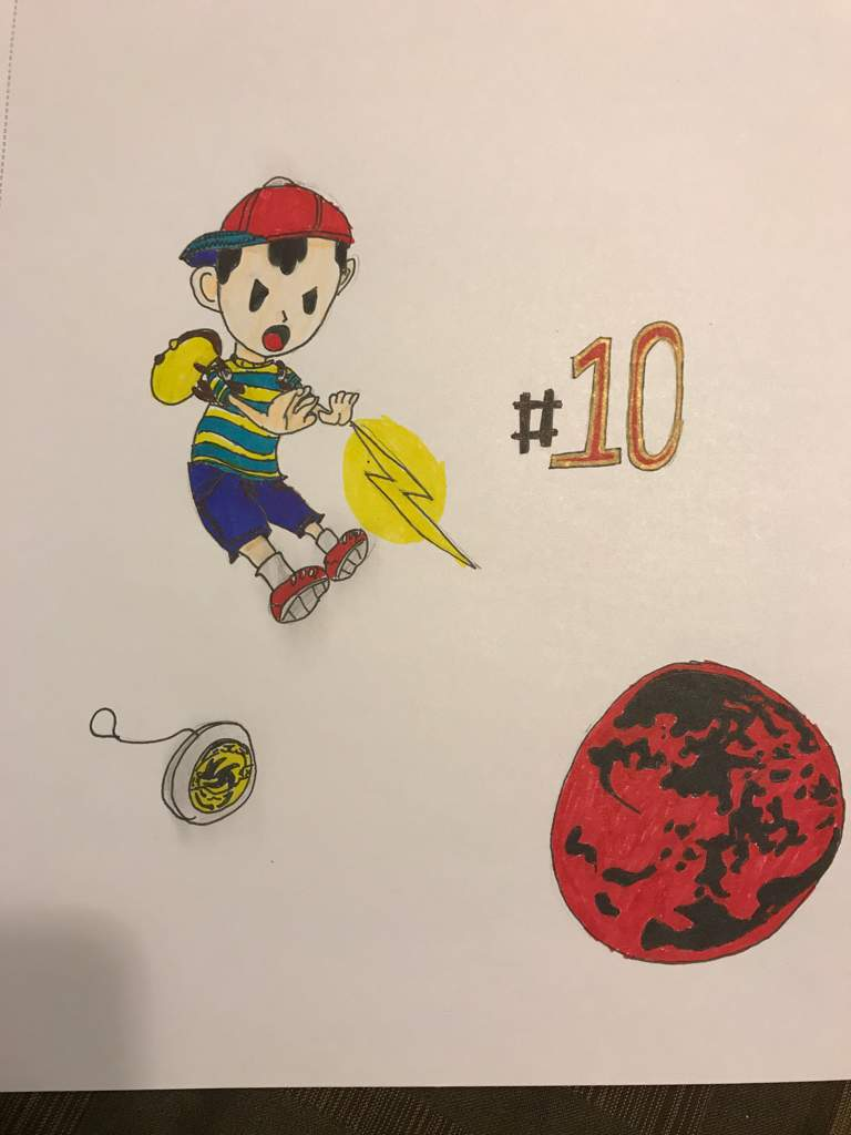 10 Earthbound/Mother: Ness   Smash Amino