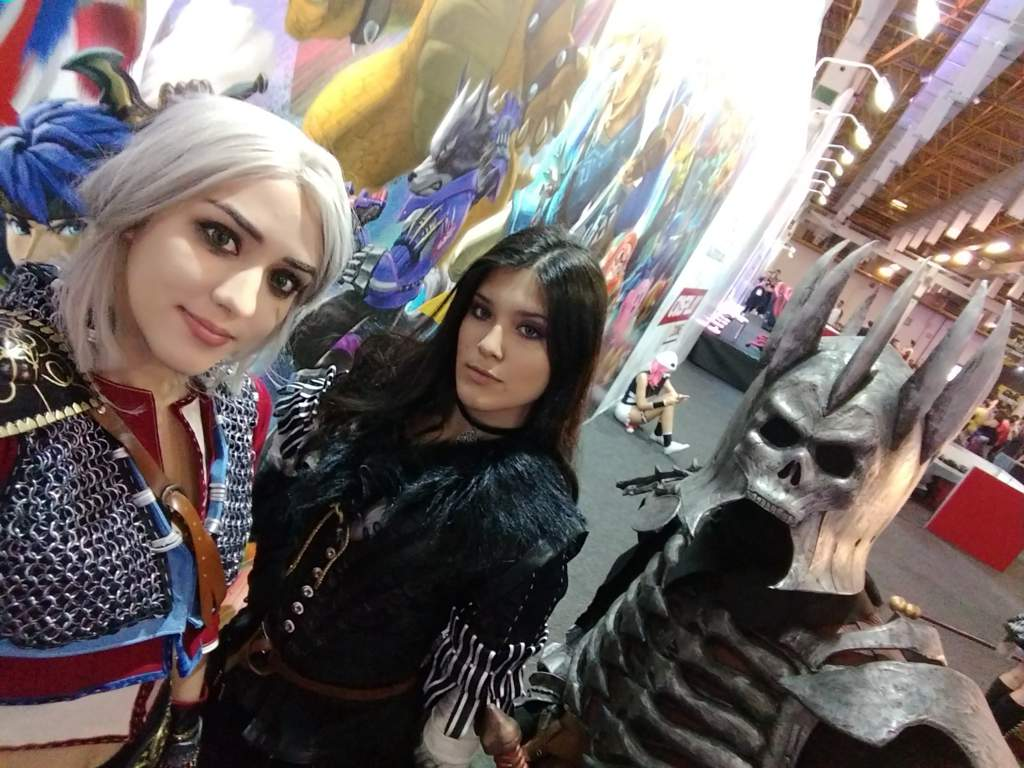Our Eredin and Ciri cosplay! (The Witcher) - BGS 2018
